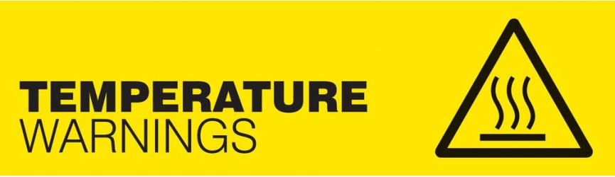 Temperature Warning Signs