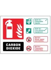 CO2 Carbon Dioxide Extinguisher Identification