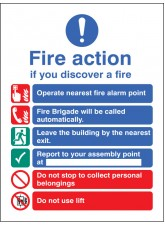 Fire Action Auto Dial with Lift (Dialled Automatically)