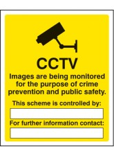CCTV Images Being Monitored for the Purpose of Crime