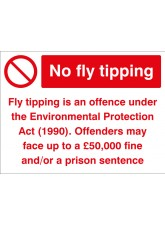 No Fly Tipping