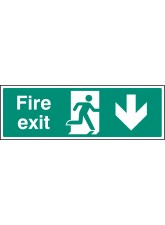 Fire Exit - Down