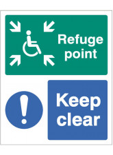 Refuge Point Keep Clear