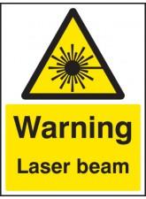 Warning Laser Beam