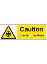 Caution Low Temperature