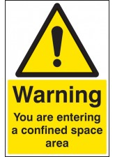 Warning You Are Entering a Confined Space Area