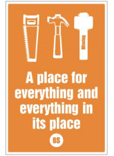 A Place for everything and everything in Its Place - 6S Poster
