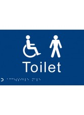 Braille - Toilet Gents/Disabled