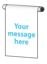 Design your Own Roll Top Sign 400 x 600mm