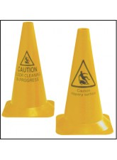 Floor Cleaning - Hazard Cone - 500mm - Round