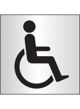 Disabled WC - Aluminium