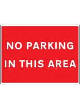 No Parking in this Area