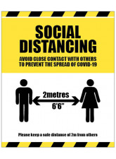 Social Distancing - Avoid Contact